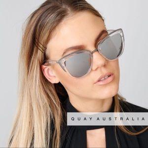 b0920738f662 Quay Australia Accessories   Quay My Girl Sunglasses Clear Silver ...